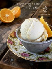 Honey Page Mandarin Ice Cream (raw, gluten-free)