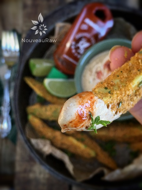 this chipotle lime sauce tastes wonderful with avocado fries