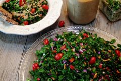 Wilted-Kale-and-Veggie--Salad