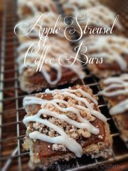 Apple Streusel Coffee Bars (raw, vegan, gluten-free)