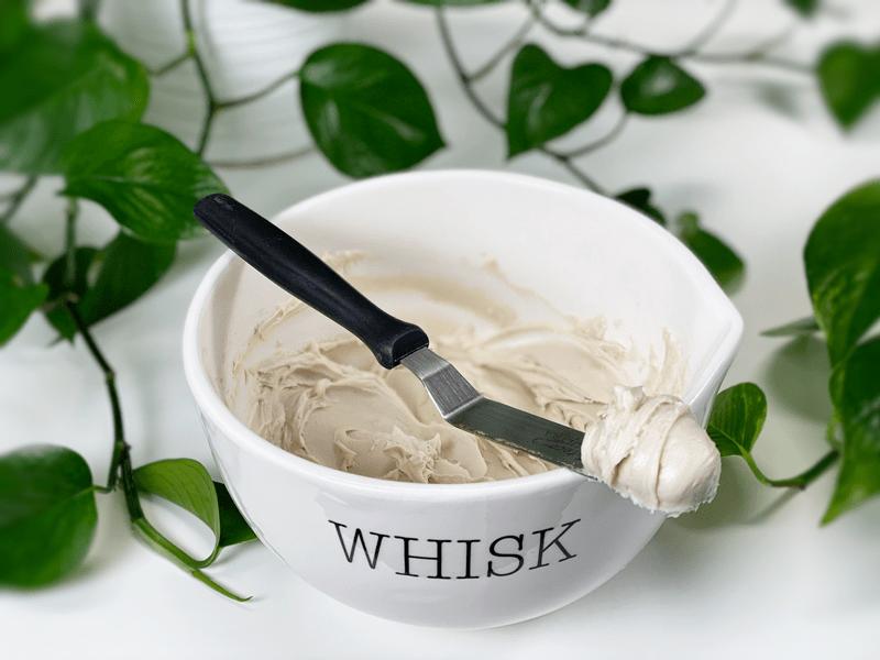 raw vegan white frosting