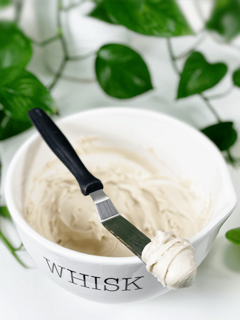 raw vegan white frosting