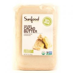 SunFood Golden Cacao Butter Organic — 1 lb