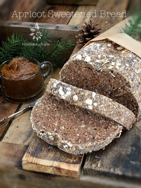 Raw, vegan, and GLUTEN-FREE bread