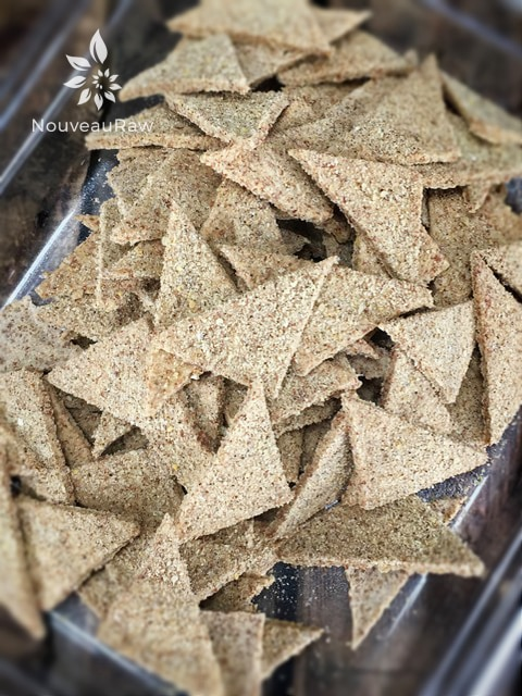Dried, crunchy, and airy... love these crackers!