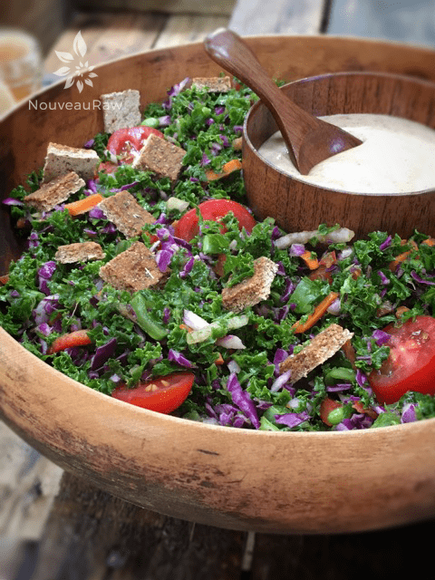 Wilted-Kale-Veggie-Salad-with-Sweet-and-Spicy-Asian-Dressing-1
