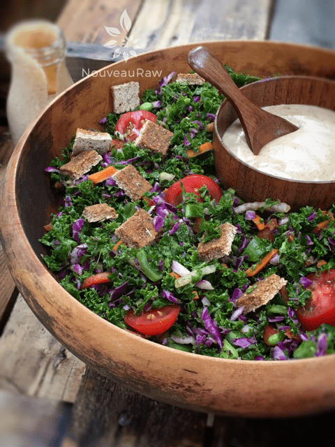 Wilted-Kale-Veggie-Salad-with-Sweet-and-Spicy-Asian-Dressing-2