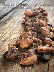 Almond Banana Nut Clusters (raw, vegan, gluten-free)