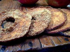 Flaxapple Rings (raw, vegan, gluten-free, nut-free)