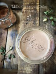 """Milk"" Chocolate Cake Frosting (raw, vegan, gluten-free)"