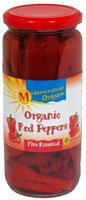 Mediterranean Organic Gourmet Red Peppers Fire Roasted — 16 oz