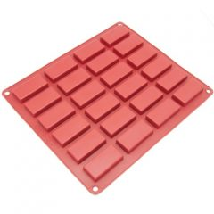 Freshware 24 Cavity Silicone Financier Pan