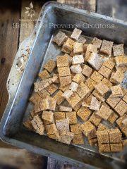 Herbes de Provence Croutons (raw, vegan, gluten-free)