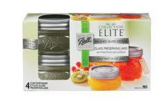 Jarden Home Brands 4Pk 8Oz Platinum Jar 1440061162 Canning Jars