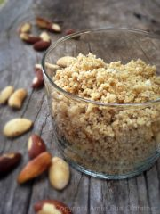"Brazil Nut ""Cheese"" Crumble (raw, vegan, gluten-free)"