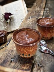Chocolate Banana Pudding (raw, vegan, gluten-free, nut-free)