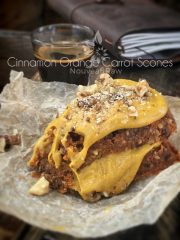 Cinnamon Orange Carrot Scones (raw, vegan, gluten-free) drying