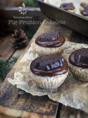 Fig-Fruition Cakelets  (raw, vegan, gluten-free)