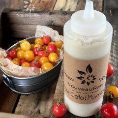 Raw, gluten free, dairy free, and vegan Mayonnaise