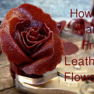 how to make pear fruit leather
