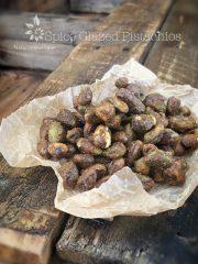 Spice Glazed Pistachios (raw, vegan, gluten-free)
