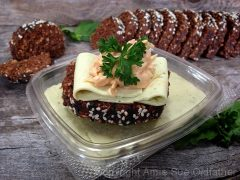 Leek & Herb Cheese (raw, vegan, gluten-free)