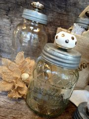 Vintage Knobby Jar Gift Idea