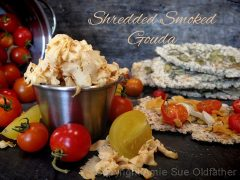 Smoked Gouda Cheese (high raw, vegan, gluten-free)
