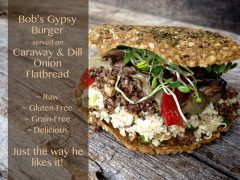Bob's Raw Gypsy Burger