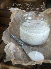 Home-Style Vanilla Bean Icing (raw, gluten-free)