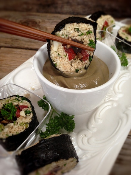 Home-of-the-Brave-Sushi-Roll-with-Brown-Gravy-Dipping-Sauce3