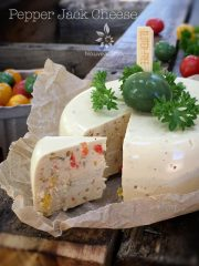 Pepper Jack Cheese (raw, vegan, gluten-free)