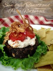 All American Sun-dried Tomato and Pesto Nutburger