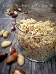 Brazil Nut Cheese Crumble (raw, vegan, gluten-free)