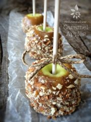 (FREE) Caramel Apples (raw, vegan, gluten-free)