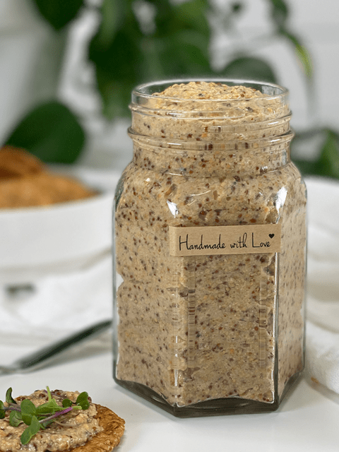 raw vegan sweet and spicy mustard