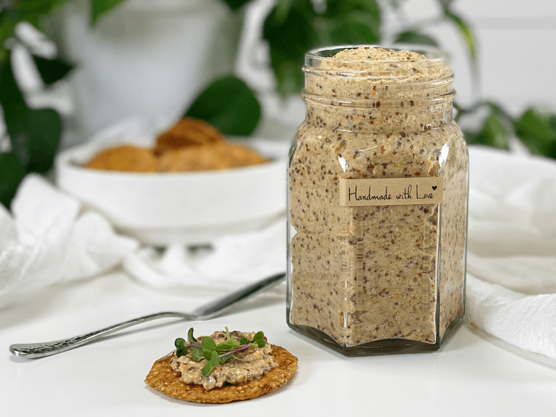 raw vegan sweet and spicy mustard