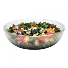 Cambro PSB15 11.2 qt Capacity, 15″ ID, Camwear Clear Polycarbonate Round Pebbled Bowl