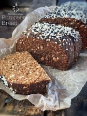 Pumpernickel Bread (raw, vegan, gluten-free)