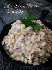 Spicy Fiesta Corn Dip (raw, vegan, gluten-free, nut-free)