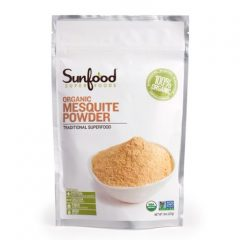 SunFood Sweet Mesquite Powder Organic — 8 oz