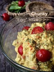 "Chunky Eggless ""Egg"" Salad (raw, vegan, gluten-free)"