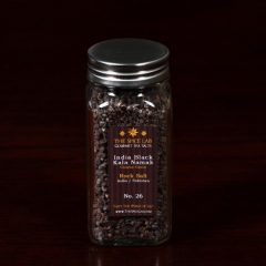 Kala Namak India Black Salt – (Coarse) Sulfur Mineral Salt – in Spice Bottle