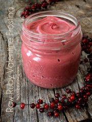 Ruby Valentine Frosting (raw, vegan, gluten-free)