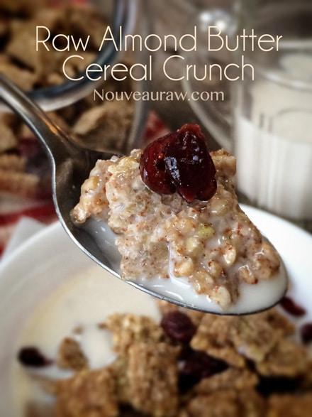 Amazing Raw Gluten-Free Almond Butter Cereal Crunch Recipe