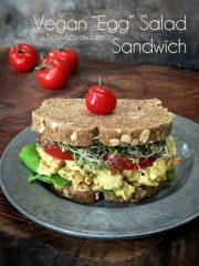 Egg Salad Sandwich (raw, vegan)