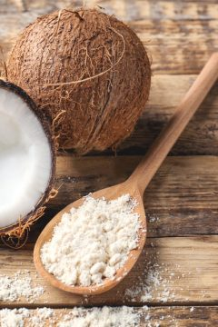 How to Make Homemade Coconut Flour from dried coconut flour