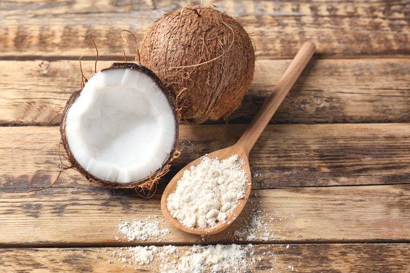 Dried Coconut Flour, how to make coconut flour