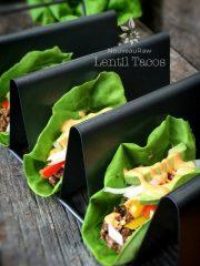 Lentil Tacos (raw, vegan, gluten-free, nut-free)