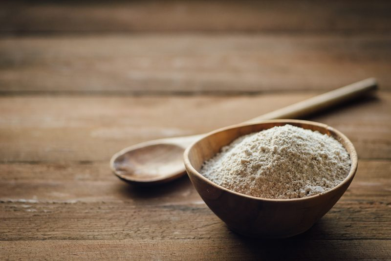 How to make Raw Oat Flour from rolled oats
